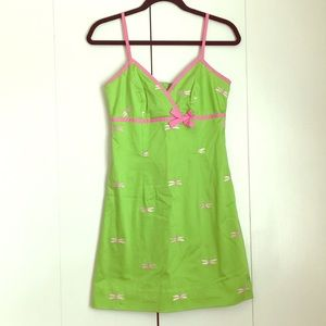 Lily Pulitzer firefly dress